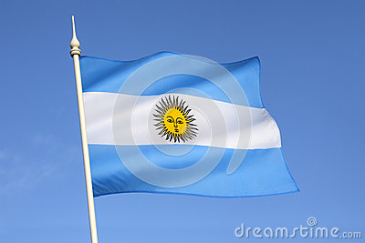 Flag of Argentina - South America