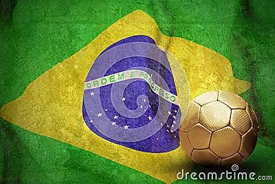 Flag and ball
