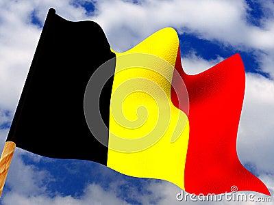 Flag. Belgium