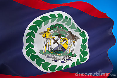 Flag of Belize - Central America