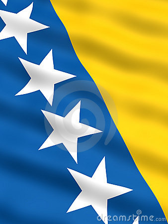 Flag of Bosnia & Herzegovina