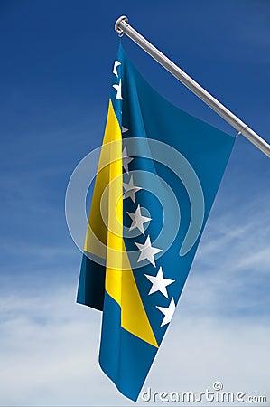 Flag of Bosnia-Herzegovina
