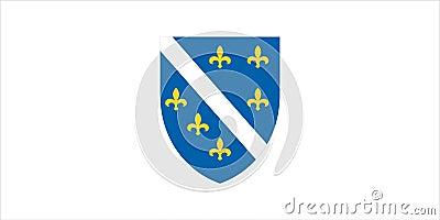 Flag of Bosnia Herzegovina