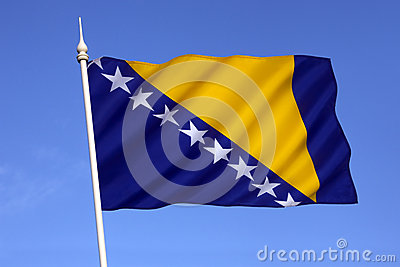 Flag of Bosnia and Herzegovina - Europe
