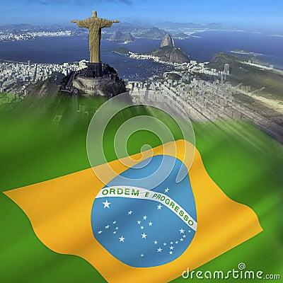 Flag of Brazil - Rio de Janeiro