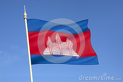 Flag of Cambodia - South East Asia