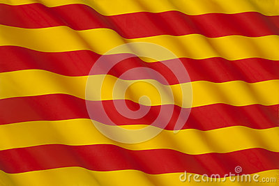 Flag of Catalonia - Spain - Europe