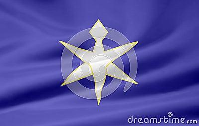 Flag of Chiba - Japan