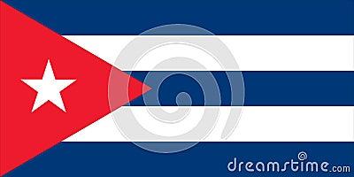 Flag of Cuba - Cuban
