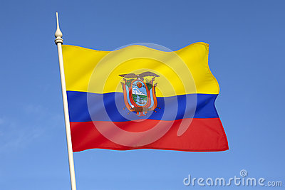 Flag of Ecuador - South America