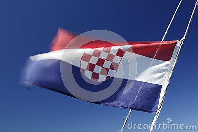 Flag / ensign of Croatia