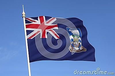 Flag of The Falkland Islands (Islas Malvinas)