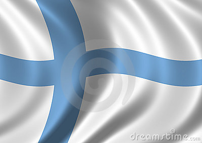 Flag Of Finland Royalty Free Stock Photography - Image: 292867