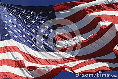 Flag Fluttering