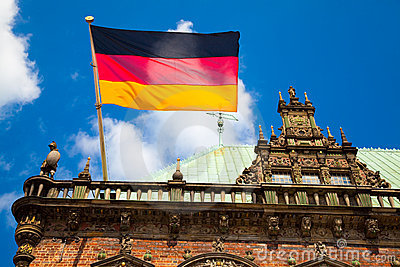 Flag of Germany, Bremen Townhall
