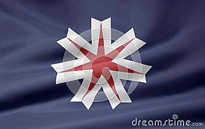 Flag of Hokkaido - Japan
