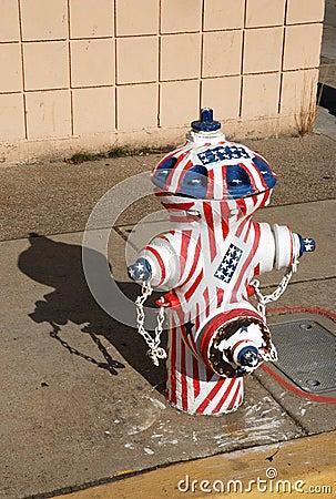 Flag Hydrant