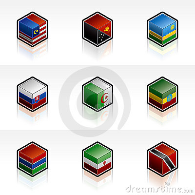 Flag Icons Set - Design Elements 56n