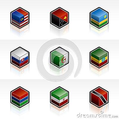Flag Icons Set - Design Elements 56n