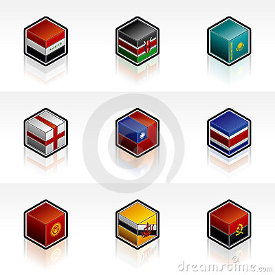 Free Flag Icons Set - Design Elements 56s Stock Images - 1965434