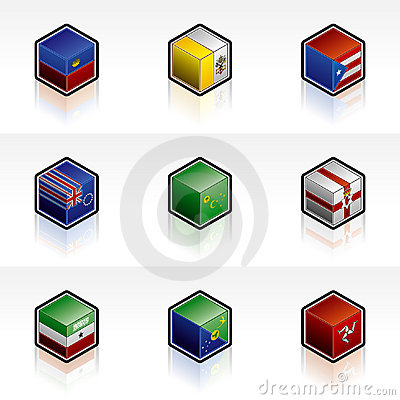 Flag Icons Set - Design Elements 56y