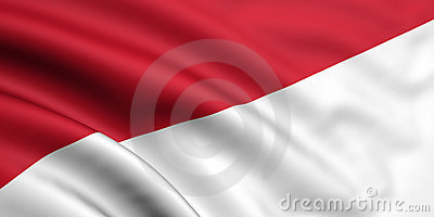 Flag Of Indonesia / Monaco
