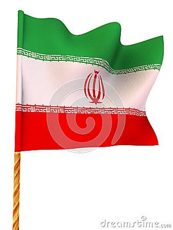 Flag. iran