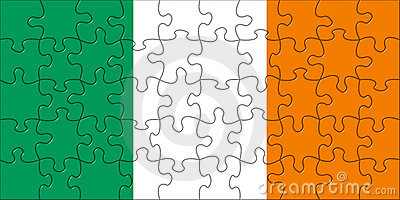 Flag of  Ireland puzzle