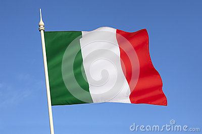 Flag of Italy - Europe