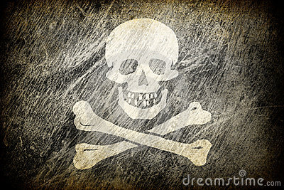 Flag of Jolly Roger.