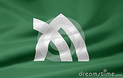 Flag of Kagawa - Japan