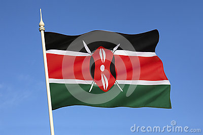 Flag of Kenya - Africa