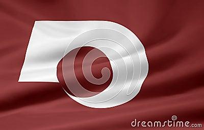 Flag of Kumamoto - Japan