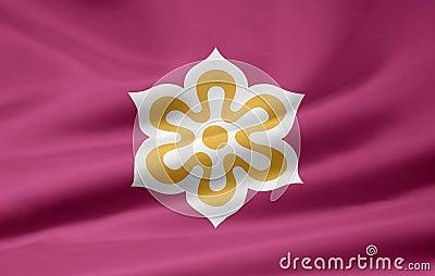 Flag of Kyoto - Japan