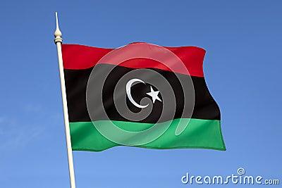 Flag of Libya - North Africa