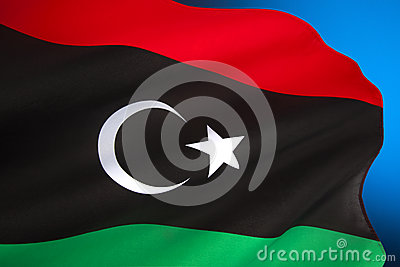 Flag of Libya - North Africa