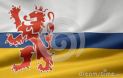 Flag of Limburg - Netherlands