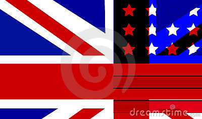 Flag Mix UK And USA