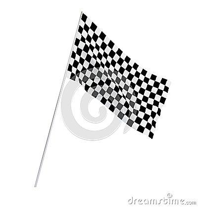 Flag motocross