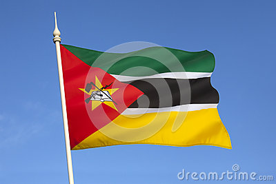 Flag of Mozambique - Africa