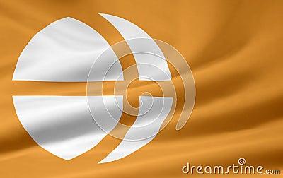 Flag of Nagano - Japan