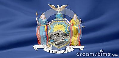 Flag of New York