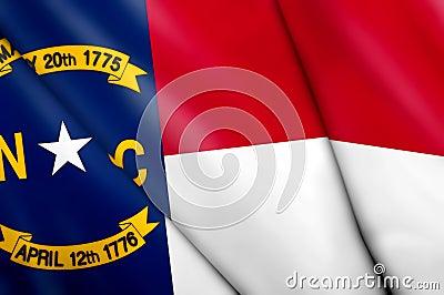 Flag of North Carolina (USA)