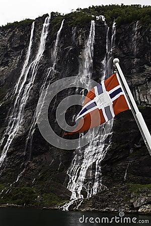 Flag of Norway.