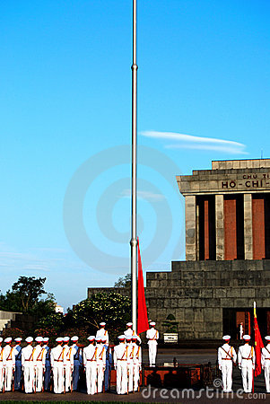 Free Flag Of Vietnam In Morning Royalty Free Stock Images - 3914069