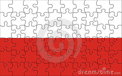 Flag of Poland puzzle