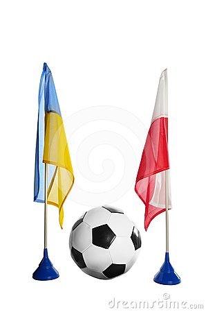 Flag polish and ukraine