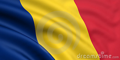 Flag Of Romania / Chad