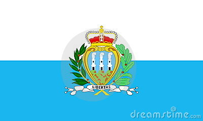 Flag Of San Marino Royalty Free Stock Images - Image: 7394129