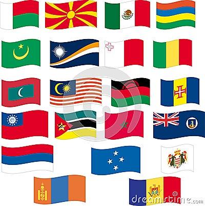 Flag set - part 8/12 - letter M